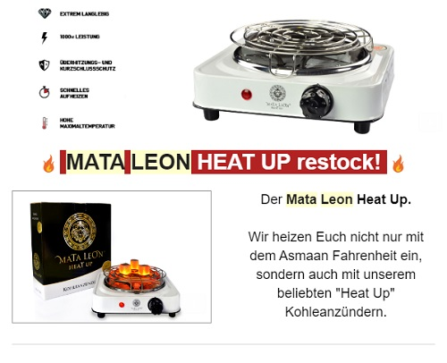 Mata Leon Heat Up Kohleanzünder