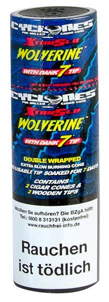Cyclones XtraSlo Cone Blunts, Wolverine