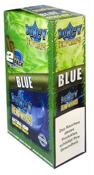 Juicy Hemp Wraps, BLUE