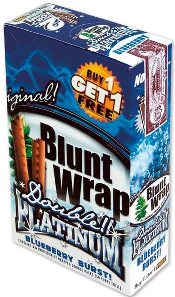 Blunt Wrap 2Platinum, BLUE