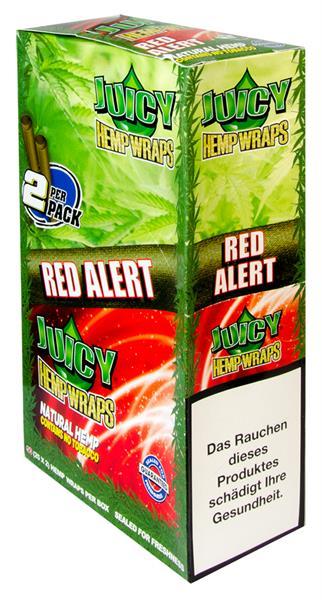 Juicy Hemp Wraps, RED ALERT