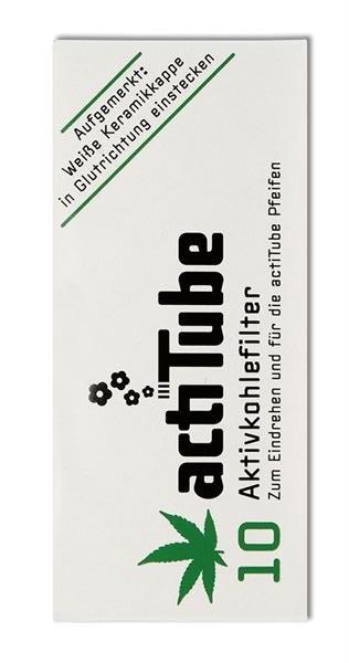 actiTube Aktivkohlefilter (10er)