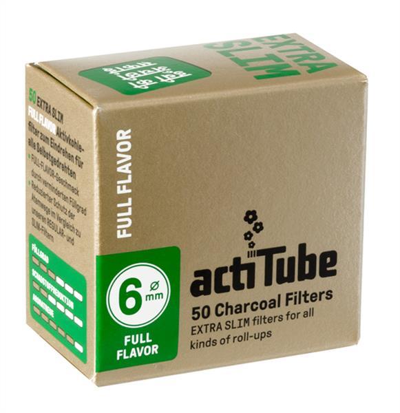 actiTube Aktivkohlefilter, 6mm (50er)