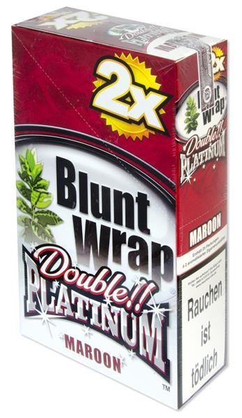 Blunt Wrap 2Platinum, MAROON
